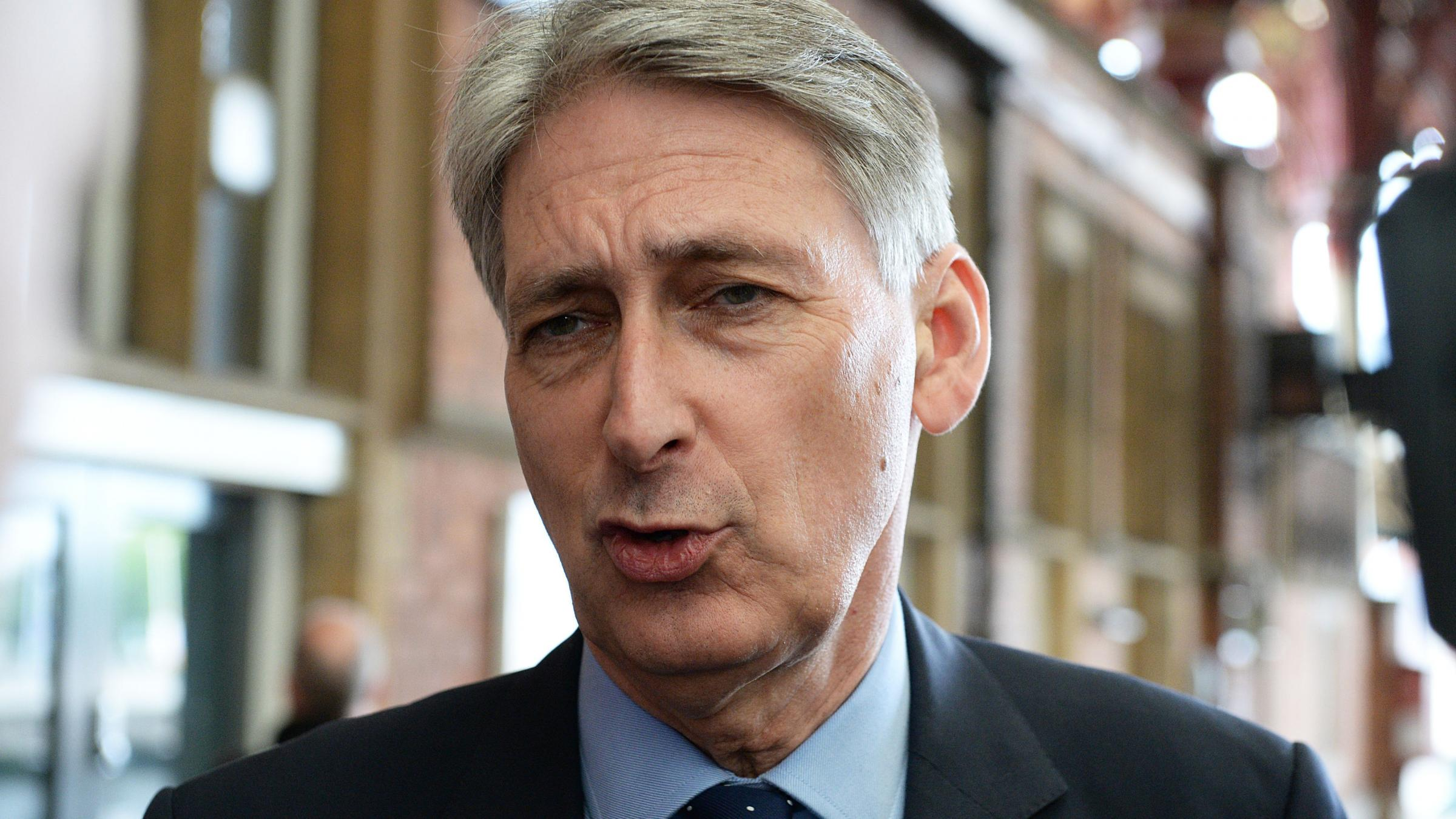 Neighbours at war: Philip Hammond attacks Theresa May's election strategy